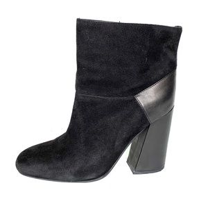 SEE BY CHLOE Square Toe Ankle Boot, 39.5
